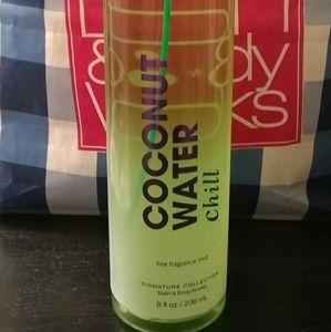 Bbw coconut water chill spray 8 oz rare